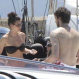 Pau Gasol y Silvia López en Ibiza