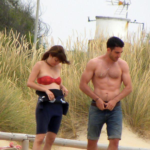 Blanca Suárez y Miguel Ángel Silvestre, de vacaciones en Cádiz