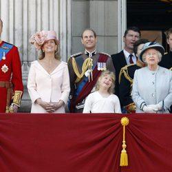 Los Windsor en Buckingham Palace
