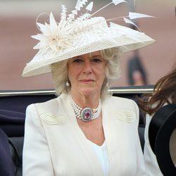 La Duquesa de Cornualles en 'Trooping the colour'