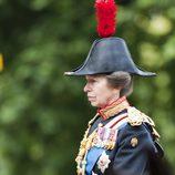 La Princesa Ana en 'Trooping the colour'