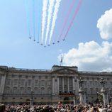 Buckingham Palace en el desfile 'Trooping the colour'