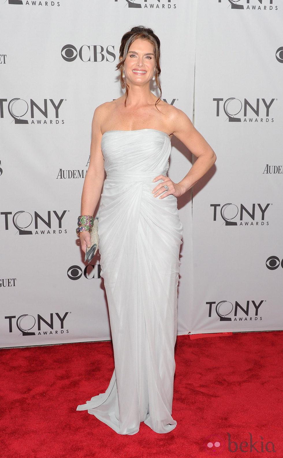 Brooke Shields en los Premios Tony 2011