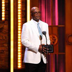 Samuel L. Jackson en los Premios Tony 2011