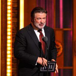 Alec Baldwin en los Premios Tony 2011