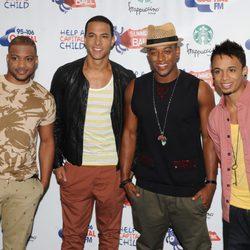 JLS en el Summertime Ball