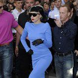Lady Gaga, una diva en Cannes