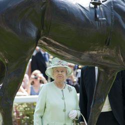 Isabel II en Ascot