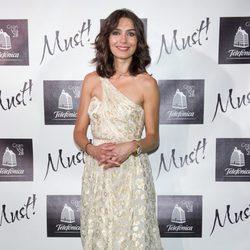 Marta Fernández en los Must Awards