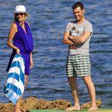 Alba Carrillo y Fonsi Nieto de vacaciones en Ibiza