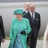 La Reina Isabel II y el Príncipe Felipe de visita en Irlanda