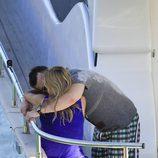 Fonsi Nieto consuela a Alba Carrillo en Ibiza