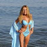 Ana Obregón en trikini