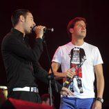 Andy y Lucas en el concierto 'Lorca somos todos'