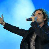 David Bisbal cantando en el concierto 'Lorca somos todos'