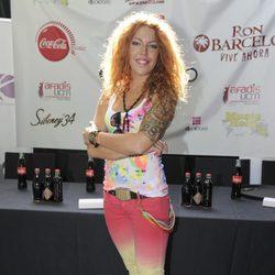 Sofía Cristo en la presentación del Festival DJ Solidario