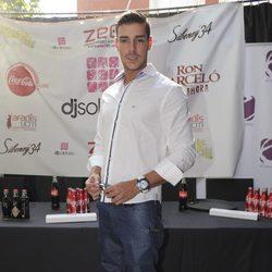 Jacobo Ostos en la presentación del Festival DJ Solidario