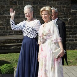 La Reina Margarita de Dinamarca y la Reina Ana María de Grecia