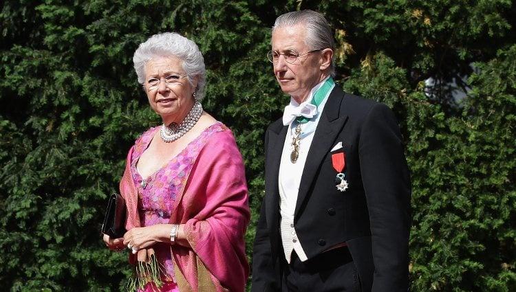 La Princesa Cristina de Suecia y Tord Magnusson