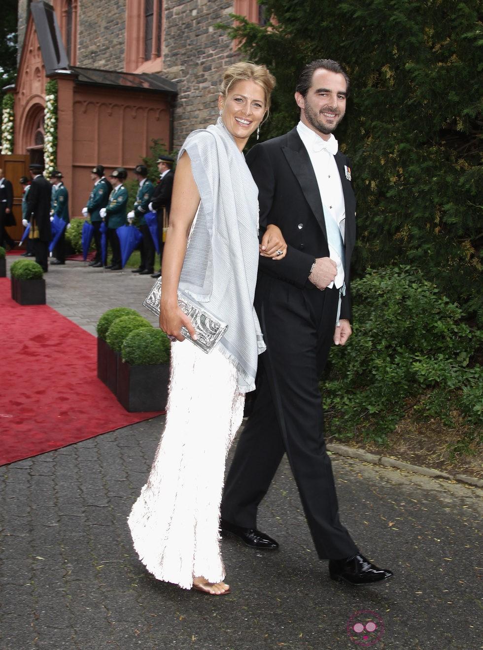 El Príncipe Nicolás de Grecia y Tatiana Blatnik