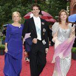 Los Príncipes Pablo, Marie Chantal y Alexia de Grecia