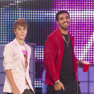 Justin Bieber y Drake en los MuchMusic Video Awards 2011