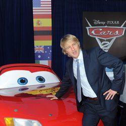 Owen Wilson en el estreno de 'Cars 2'