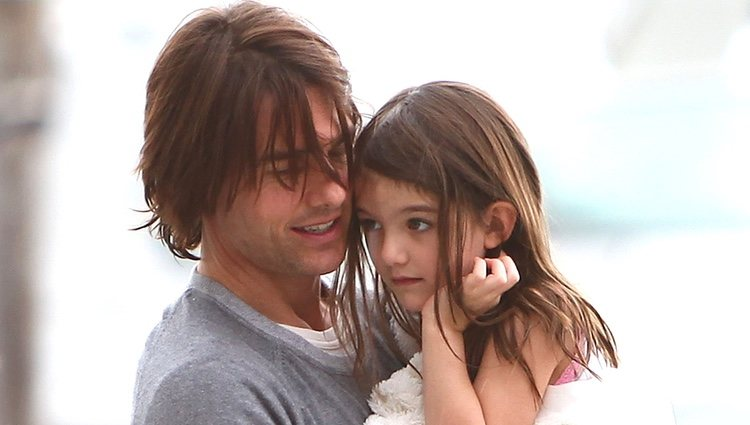 Tom Cruise con su hija Suri