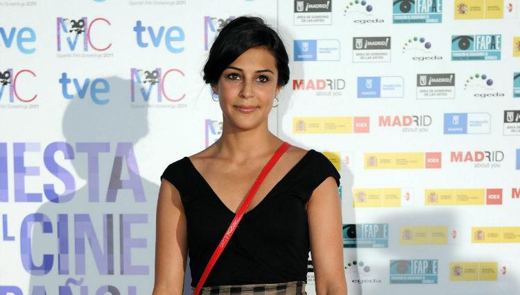 Sara Casasnovas en la Fiesta del Cine Español