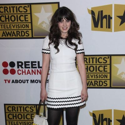 Zooey Deschanel en los Critics' Choice Television Awards 2011.