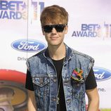 Justin Bieber en los Bet Awards 2011