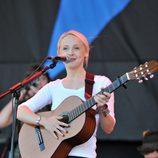 Laura Marling en el Festival de Glastonbury