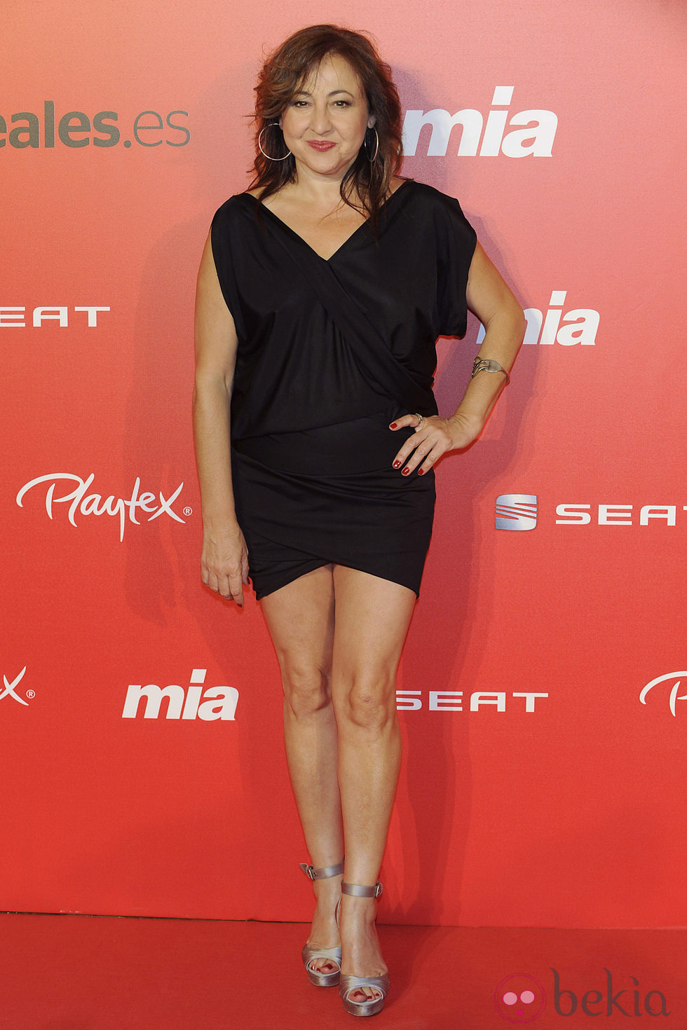 Carmen Machi en el 25 aniversario de la revista 'Mia' - Famosos en el ...