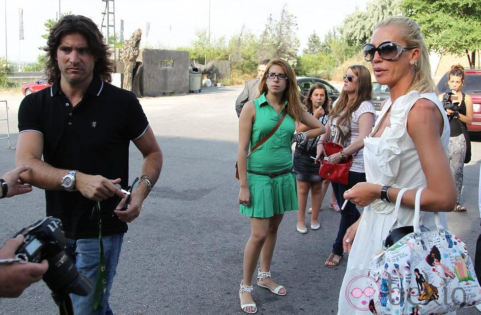 Belén Esteban y Toño Sanchís en el cumpleaños de Andreíta