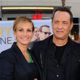 Julia Roberts y Tom Hanks en el estreno de 'Larry Crowne'