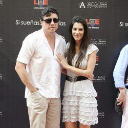 Carlos Bardem y Cecilia Gessa en el Paseo de la Fama de Madrid