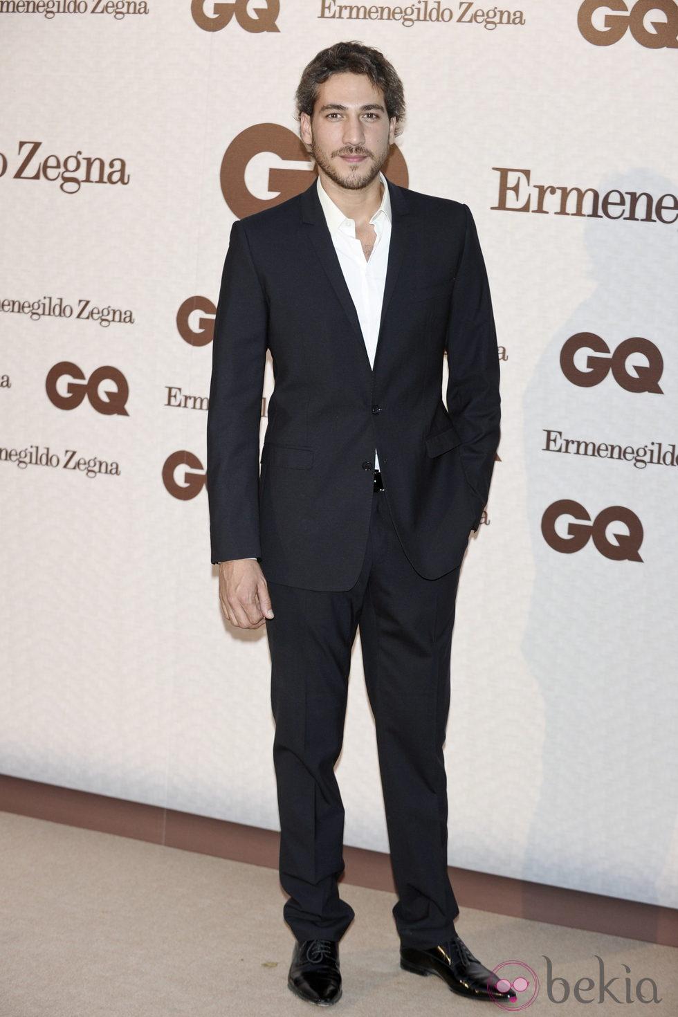 Alberto Ammann en los Premios GQ 'Hombres Elegantes 2011'