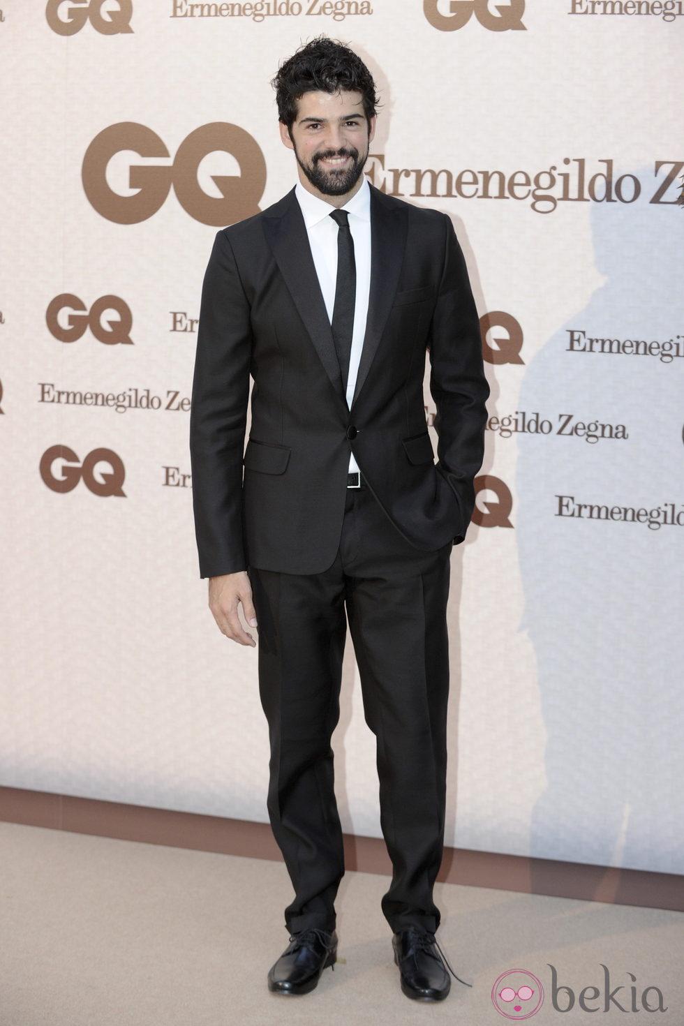 Miguel Ángel Muñoz en los Premios GQ 'Hombres Elegantes 2011'