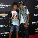 Willow y Jaden Smith en la premiere en Nueva York de Transformers 3