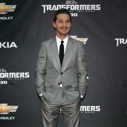Shia LaBeouf en la premiere en Nueva York de Transformers 3