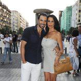 Roberto Liaño y Encarna Salazar en el concierto de Ricky Martin en Madrid