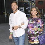 Darek y Susana Uribarri en el concierto de Ricky Martin en Madrid