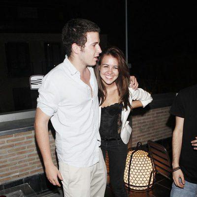 Álex Lecquio y su novia Andrea Guasch