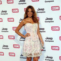 Lucía Hoyos en los Premios Pétalo de Rosa de Cosmopolitan