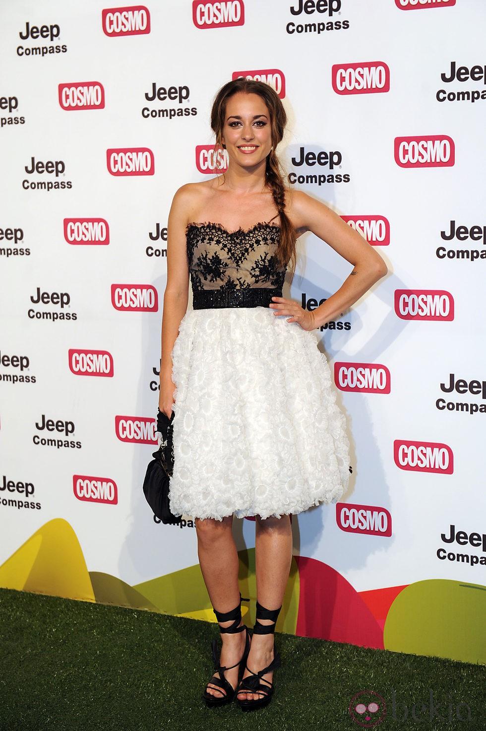 Silvia Alonso en los Premios Pétalo de Rosa de Cosmopolitan