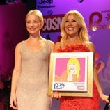 Soraya y Cayetana Guillén Cuervo en los Premios Pétalo de Rosa de Cosmopolitan