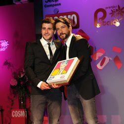 Félix Gómez galardonado en los Premios Pétalo de Rosa de Cosmopolitan