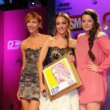 Elisa Matilla, Adriana Torrebejano y Silvia Alonso en los Premios Pétalo de Rosa