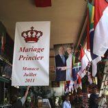 Restaurante engalanado por la boda de Alberto de Mónaco y Charlene Wittstock