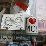 Postales conmemorativas de la boda de Alberto de Mónaco y Charlene Wittstock